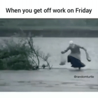 tag your friends friday: When you get off work on Friday  Grandomturtle tag your friends friday