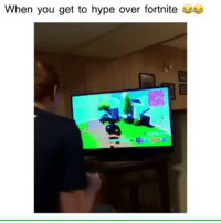 Follow @hoodchillz for the most savage and hilarious posts on IG!😂💀: When you get to hype over fortnite  0.0 Follow @hoodchillz for the most savage and hilarious posts on IG!😂💀
