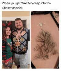 Christmas, Memes, and Spirit: When you get WAY too deep into the  Christmas spirit  @dabmoms I'm doing this immediately. Follow me @dabmoms for more