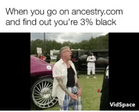 News, Ancestry, and Best: When you go on ancestry.comm  and find out you're 390 black  VidSpace Best news I've heard since '78