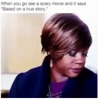 """😂😂🏃 dontplaythosegames basedonatruestory scarymovie funniest15seconds Email: funniest15seconds@yahoo.com Youtube: funniest15seconds Website: www.viralcypher.com: When you go see a scary movie and it says  """"Based on a true story."""" 😂😂🏃 dontplaythosegames basedonatruestory scarymovie funniest15seconds Email: funniest15seconds@yahoo.com Youtube: funniest15seconds Website: www.viralcypher.com"""