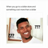 Dollar Store, Store, and Dollar Stores: When you go to a dollar store and  something cost more than a dollar