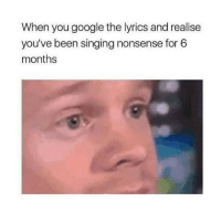 Google, Pizza, and Singing: When you google the lyrics and realise  you've been singing nonsense for 6  months the Krusty krab pizza is the pizza for u and bees
