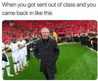"Dank, Meme, and School: When you got sent out of class and you  came back in like this <p>School days via /r/dank_meme <a href=""http://ift.tt/2DkCqr4"">http://ift.tt/2DkCqr4</a></p>"