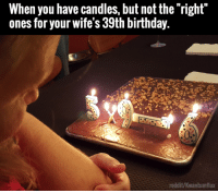 Dank, 🤖, and Shell: When you have candles, but not the right  ones for your wife's 39th birthday.  reddit/Kwantumflux Nice improvisation. Not that she'll appreciate it...