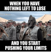What are you gonna do? Send me back to Iraq?: WHEN YOU HAVE  NOTHING LEFT TO LOSE  Pop Smoke  US AIR FORCE  AND YOU START  PUSHING YOUR LIMITS What are you gonna do? Send me back to Iraq?