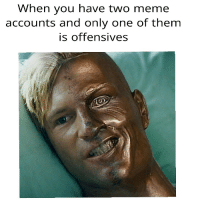 """Dank, Meme, and Http: When you have two meme  accounts and only one of them  is offensives <p>who is she 😤 via /r/dank_meme <a href=""""http://ift.tt/2oQ7h6d"""">http://ift.tt/2oQ7h6d</a></p>"""