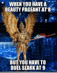 This Saint Seiya look is so badass! http://9gag.com/gag/a9rbv6m?ref=fbpic: WHEN YOU HAVEA  BEAUTY PAGEANT.AT8  BUT YOU HAVE TO  DUEL SLARK AT 9  Philotar com  MERigonio Toledo IV This Saint Seiya look is so badass! http://9gag.com/gag/a9rbv6m?ref=fbpic