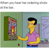 The homie @x__antisocial_butterfly__x has one of the best pages on IG: When you hear her ordering shots  at the bar. The homie @x__antisocial_butterfly__x has one of the best pages on IG