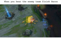 Memes, 🤖, and Twitches: When you hear the enemy team finish Baron when they sneak it at 20minutes -_  = LeagueMemes ft. Wingolos =  Wingolos www.youtube.com/c/wingolos www.twitch.tv/wingolos
