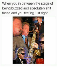 Dank Memes, Buzz, and Absolut: When you in between the stage of  being buzzed and absolutely shit  faced and you feeling just right Shitpostbot5000 with a banger
