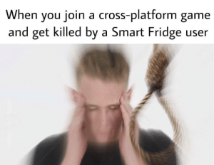 Dank, Memes, and Target: When you join a cross-platform game  and get killed by a Smart Fridge user Damnit Samsung by JackNVodka MORE MEMES