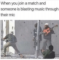 I SWEAR WHEN I PLAY MW3 THE MUSIC ALWAYS BE SOME FOREIGN SHIT or when I play bo2 or something it's some loud ass trap music or dubstep: When you join a match and  someone is blasting music through  their mic I SWEAR WHEN I PLAY MW3 THE MUSIC ALWAYS BE SOME FOREIGN SHIT or when I play bo2 or something it's some loud ass trap music or dubstep