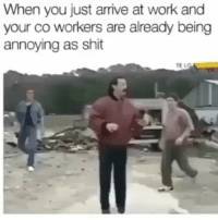 Y'all ever just wanna fuck around and become a drug dealer: When you just arrive at work and  your co workers are already being  annoying as shit Y'all ever just wanna fuck around and become a drug dealer