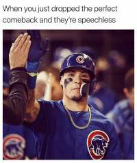 Baseball, Memes, and Boom: When you just dropped the perfect  comeback and they're speechless Boom, roasted 🔥. . . . Witty Comeback OnPoint NoHesitation HighFive Baseball Softball Ballplayers LeaveThemSpeechless SlapHands