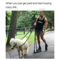 Crazy, Memes, and Shit: When you just get paid and start buying  crazy shit..  @heated @heated @heated @heated . heated yyc barbados genitalpiercing