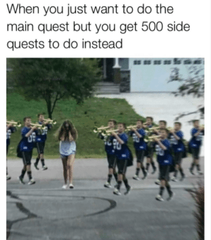 Dank, Memes, and Reddit: When you just want to do the  main quest but you get 500 side  quests to do instead  Skyrim Hearen 500 side quests by Holofan4life FOLLOW 4 MORE MEMES.