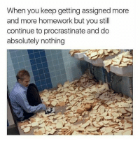 School, Teacher, and Classroom: When you keep getting assigned more  and more homework but you still  continue to procrastinate and do  absolutely nothing Homework Pile-Up Time     http://counter.onlineclock.net/counters/  #Classroom #School #Students #Education #Teachers #EdTech #EdChat #Learning #eLearning #Highered #K12 #EdTechChat #Schools #Teacher #TeacherLife #TeachersOfInstagram #TeacherDay #TeachersOfIG #TeacherProblems #TeachersFollowTeachers #TeacherMom #TeachersDay #TeacherGifts #TeacherGram #TeachersLife