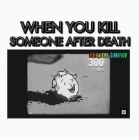 Funny, Memes, and Ps4: WHEN YOU KIL  SOMEONE AFTER DEATH  ATHE LONE SURVIVOR Most satisfying 😂 - FOLLOW @the_lone_survivor for more - - PS4 xboxone tlou Thelastofus fallout fallout4 competition competitive falloutmemes battlefield1 battlefield starwars battlefront game csgo counterstrike gaming videogames funny memes videogaming gamingmemes gamingpictures dankmemes recycling csgomemes cod