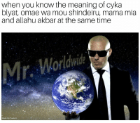 "<p>Stay away from me monolinguals😎 via /r/memes <a href=""https://ift.tt/2pGBNl9"">https://ift.tt/2pGBNl9</a></p>: when you know the meaning of cyka  blyat, omae wa mou shindeiru, mama mia  and allahu akbar at the same time  Made By Paula K <p>Stay away from me monolinguals😎 via /r/memes <a href=""https://ift.tt/2pGBNl9"">https://ift.tt/2pGBNl9</a></p>"