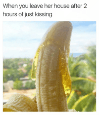 Horny, Dank Memes, and Hell Naw: When you leave her house after 2  hours of just kissing Oh Hell Naw! 😩😩😩😂 Wow MyChest Horny Omg SheGottaDie lmfao BruH BlueBalls Relationships TeasedAF Niggaa lmao Jokes mrlefthand