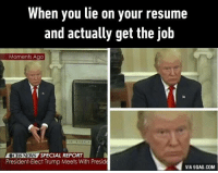 lie on your resume