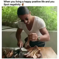 FOH lil bih!!! But fr tho this mf is smooth af 😂😂😂 @trapgodbart Credit: @nusr_et: When you living a happy positive life and you  Spot negativity FOH lil bih!!! But fr tho this mf is smooth af 😂😂😂 @trapgodbart Credit: @nusr_et
