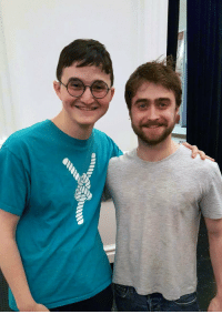 When you look more like Harry Potter than Harry Potter: When you look more like Harry Potter than Harry Potter