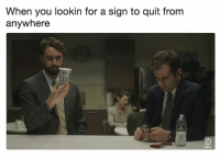 God, Memes, and Outta: When you lookin for a sign to quit from  anywhere If there are more than 10 triangles, then that is a clear sign from God, I'm outta here. Catch a new episode of @Corporate tonight at 10-9c on @ComedyCentral sp