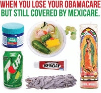 😂😂😂  Follow us Mexican Problems: WHEN YOU LOSE YOUR OBAMACARE  BUT STILL COVERED BY MEXICARE  nemhing  ULTRA STRING  BENGA  VIRGENDE GUADALUPE  @AIR NANDEZ 😂😂😂  Follow us Mexican Problems