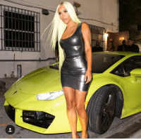 Memes, Lamborghini, and Hair: When you match your hair to your new Lambo. @toofabnews kimkardashian tmz 📷Splash lamborghini