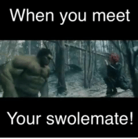 Swolemates.: When you meet  Your Swolemate! Swolemates.