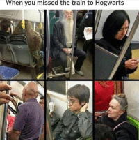 Harry Potter, Memes, and Train: When you missed the train to Hogwarts Harry Potter post!!