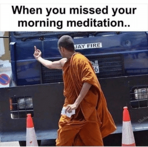 When you missed your morning meditation #spiritual #meditation: When you missed your morning meditation #spiritual #meditation