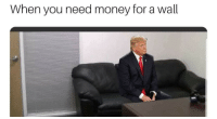 Money, You, and For: When you need money for a wall