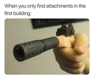 Apex, Dank Memes, and Legends: When you only find attachments in the  first building: Apex Legends in a nutshell.