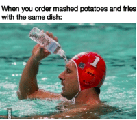 "<p>I saw a fry meme yesterday, thought I&rsquo;d pile on via /r/memes <a href=""https://ift.tt/2Iql9Ti"">https://ift.tt/2Iql9Ti</a></p>: When you order mashed potatoes and fries  with the same dish: <p>I saw a fry meme yesterday, thought I&rsquo;d pile on via /r/memes <a href=""https://ift.tt/2Iql9Ti"">https://ift.tt/2Iql9Ti</a></p>"