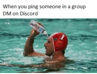 When You Ping Someone in a Group DM on Discord | IRL Meme on