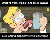 "Video Games, Swords, and  Old Game: WHEN YOU PLAY AN OLD GAME  ONLY  GAMERS  KNOW  AND YOU'VE FORGOTTEN THE CONTROLS ""How do I unsheathe my sword!? 😠 #OnlyGamersKnow"