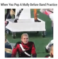 Memes, Molly, and Pop: When You Pop A Molly Before Band Practice
