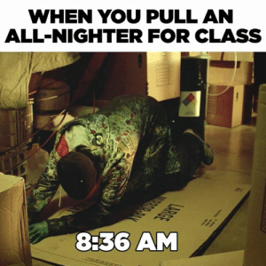 Pull An All Nighter