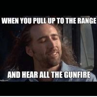 Emoji, Guns, and Memes: WHEN YOU PULL UP TO THE RANGE  AND HEAR ALL THEGUNFIRE  mgfip.com But what else is there to do on Sunday? Other than football... 🔫🔫🔫🔫 < stupid water gun, told y'all that emoji was changing! --- www.1776United.com ---