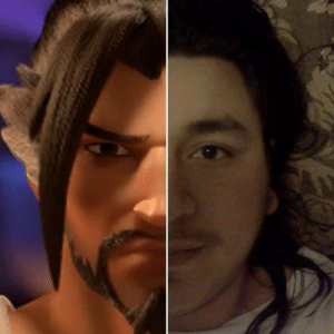 When you quote a Hanzo voiceline in regular conversation.: When you quote a Hanzo voiceline in regular conversation.
