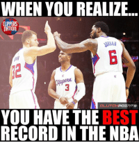 LIKE Clippers Nation!: WHEN YOU REALIZE  CLIPPERS  NATION  CLUTCH  POI  InTS  YOU HAVE THE  BEST  RECORD IN THE NBA LIKE Clippers Nation!