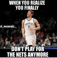 Brook Lopez has been traded to the Lakers for Dangelo Russell and Mozgov 🔥😂 - Follow @_nbamemes._: WHEN YOU REALIZE  ROOKLYy  11  CA NBAMEMES.  DONT PLAY FOR  THE NETSANYMORE Brook Lopez has been traded to the Lakers for Dangelo Russell and Mozgov 🔥😂 - Follow @_nbamemes._