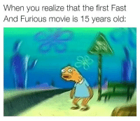 Memes, Fast and Furious, and Fate: When you realize that the first Fast  And Furious movie is 15 years old: Feel old yet? 😂 carmemes fastandfurious f8 fate fast8