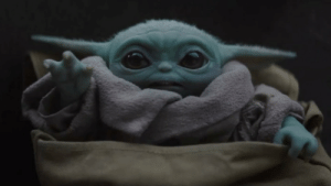 When you realize the baby yoda meme is dying/dead.....: When you realize the baby yoda meme is dying/dead.....