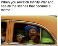 Meme, Infinity, and Reason: When you rewatch Infinity War and  see all the scenes that became a  meme Another reason to rewatch it