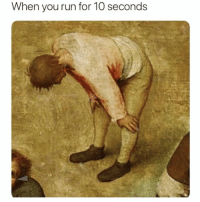 Funny, Meme, and Run: When you run for 1O seconds I am wildly out of shape for someone that's in their early 20's @meme.w0rld 😂😩😔