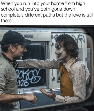 Ya get what ya fuckin deserve via /r/memes https://ift.tt/2MCgBbE: When you run into your homie from high  school and you've both gone down  completely different paths but the love is still  there:  28 Ya get what ya fuckin deserve via /r/memes https://ift.tt/2MCgBbE
